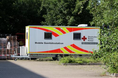 Bild von dem Impf-Mobil